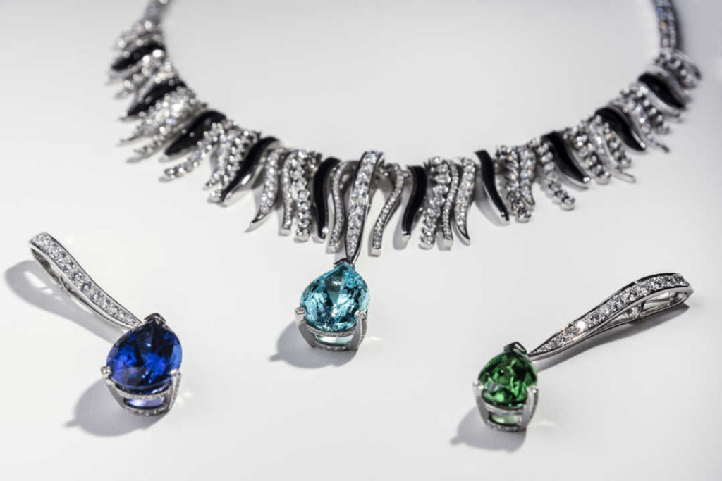 01 – Sea Beauty High Jewelry Necklace